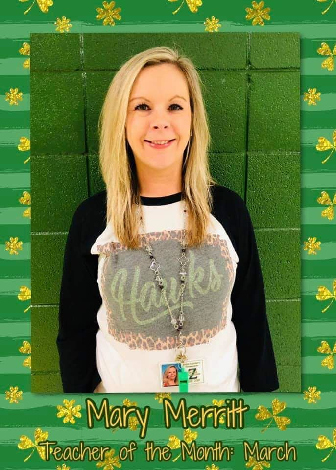 March Co-Teacher of the Month